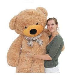 Christmas Gifts for Girlfriend:Giant Teddy Bear (6.5 Feet)