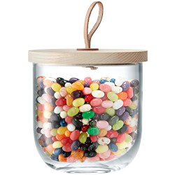 Candy Jar with Ash Lid