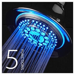 Geek Gifts:LED Shower Head