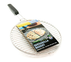 Barbecue Stainless Quesadilla Basket