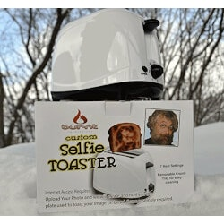 Gifts for Wife:The Selfie Toaster