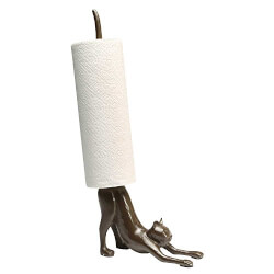 Cat Paper Towel Stand
