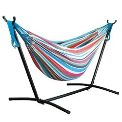 Christmas Gifts for Mom:Portable Double Hammock