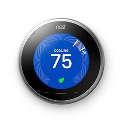 Gifts for Father In Law Under $200:Nest Learning Thermostat