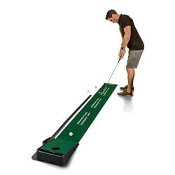 Birthday Gifts for Brother Under $50:Indoor Putting Green With Ball Return