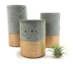 Concrete Succulent Planters