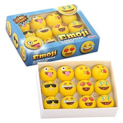 Birthday Gifts for Brother Under $50:Emoji Practice Golf Balls