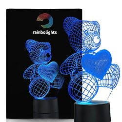 Unique Teddy Bear Night Light