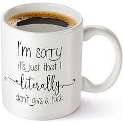 Don't Give A F*ck Coffee Mug