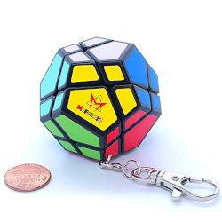 Mini Dodecahedron Puzzle Keychain