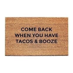 Tacos & Booze Doormat