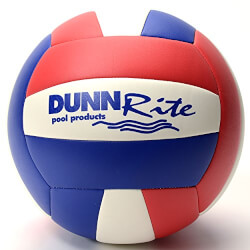 Blue/White/Red Pool Volleyball